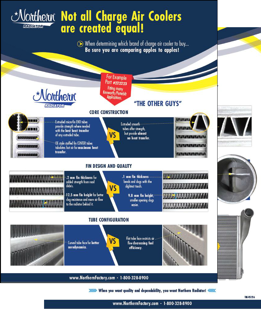 Us vs. Them Charge Air Coolers - Not all CACs are created equal
