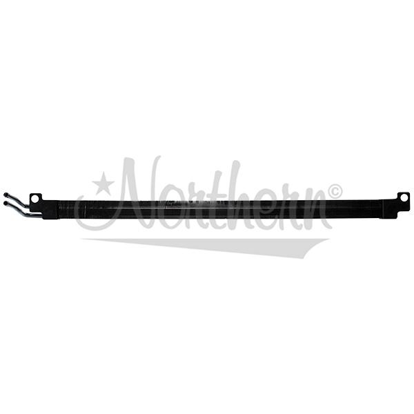 190132 Auxiliary Fuel Cooler - Peterbilt / Kenworth - 34 3/8 x 2 x 7/8