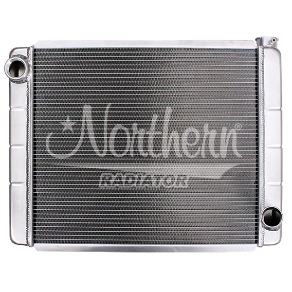 204122 Race Pro Radiator - 26 x 19 GM With Threaded Inlet