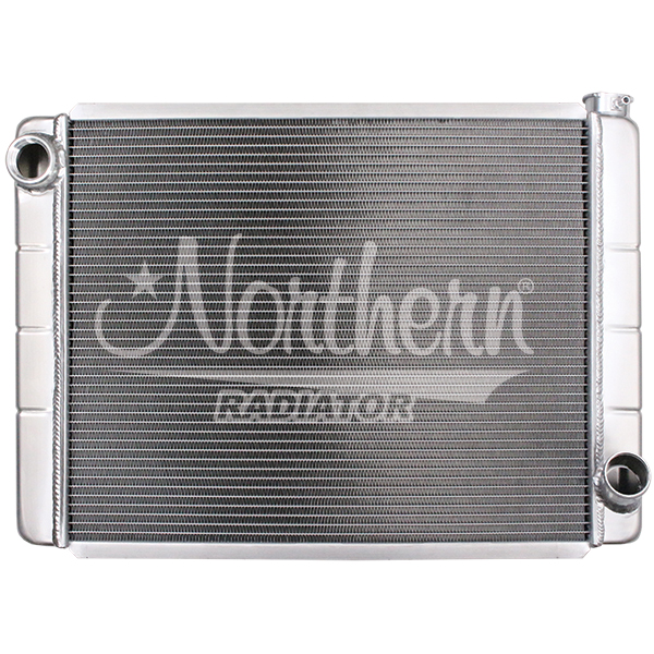 204123 Race Pro Radiator - 28 x 19 GM With Threaded Inlet