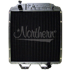 211033 Ford New Holland Tractor Radiator - 26 7/8 x 27 1/2 x 3 1/2