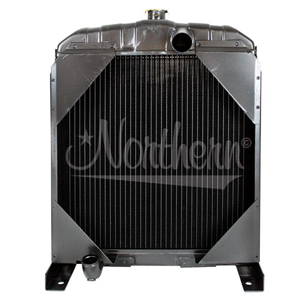 211075 Allis Chalmers Tractor Radiator - 18 1/4 x 18 x 2 3/4