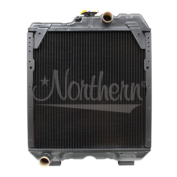 212004 Case/IH New Holland Tractor Radiator - 17 1/2 x 17 1/2 x 2 3/8