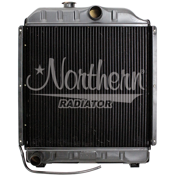 211142 Case / New Holland Tractor Radiator - 17 1/4 x 17 1/4 x 3 1/8