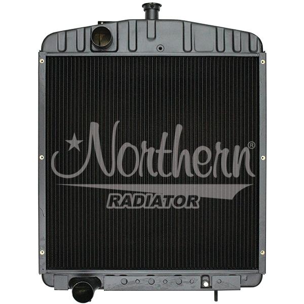 219579 Case/IH Tractor Radiator - 26 3/4 x 27 1/2 x 3 3/8