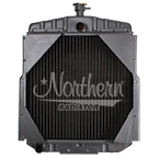 219894 AGCO/Allis Chalmers Tractor Radiator - 15 1/4 x 15 3/8 x 2