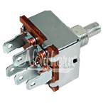 220-215 3 Speed Blower Switch - Short Shaft
