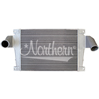 222110 Volvo / White Charge Air Cooler - 34 1/4 x 25 3/4 x 2 1/2