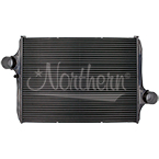 222326 Freightliner Chassis Motorhome Charge Air Cooler - 38 5/8 x 27 5/8 x 2 7/8 (Extra Port)