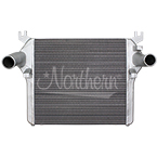 222330 High Performance Dodge Charge Air Cooler - 27 x 25 3/8 x 2 1/4