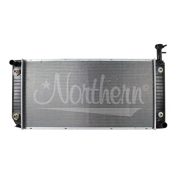 232791 Chevy / GM Radiator - 34 x 17 1/4 x 15/16  (Quick Connect Outlet)