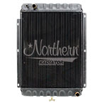 233005 Apu Radiator (CBR) Without Fill Neck For Semi Trucks - 16 9/16 x 13 1/16 x 1 1/4 Core