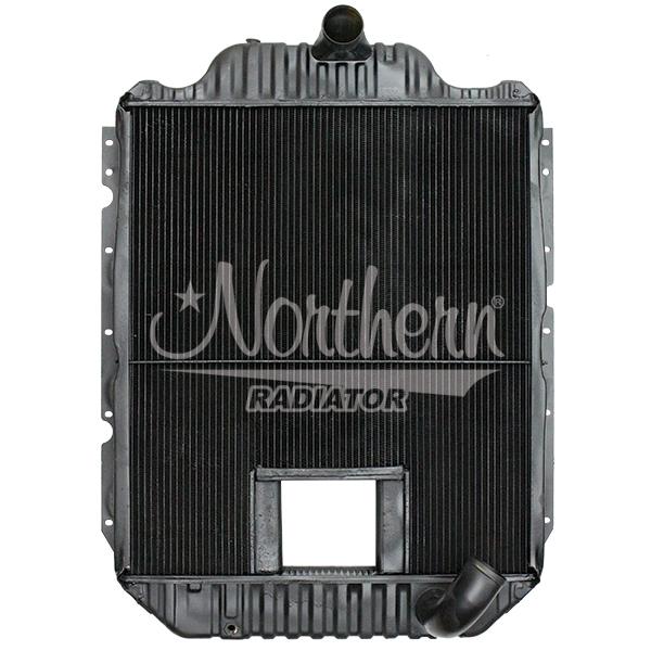 238581 International / Navistar Radiator - 29 3/4 x 26 x 2 5/8 (With Crank Box)