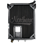 238683 AuTOCar Radiator - 37 15/16 x 27 9/16 x 3 1/8 (With Crank Box)