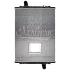 238717 Kenworth / Peterbilt Radiator - 40 1/2 x 30 1/2 x 2 1/16 (PTR With Crank Box)