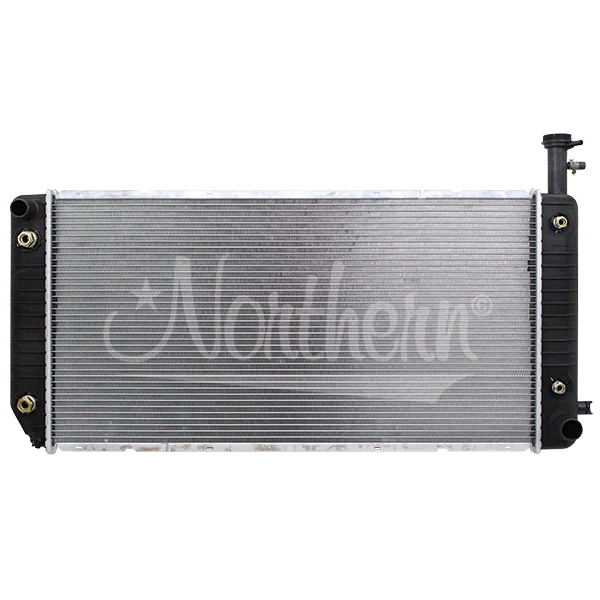 238719 Chevy / GM Radiator - 34 x 17 1/4 x 1 (With Quick Connect Outlet & Sensor Port)