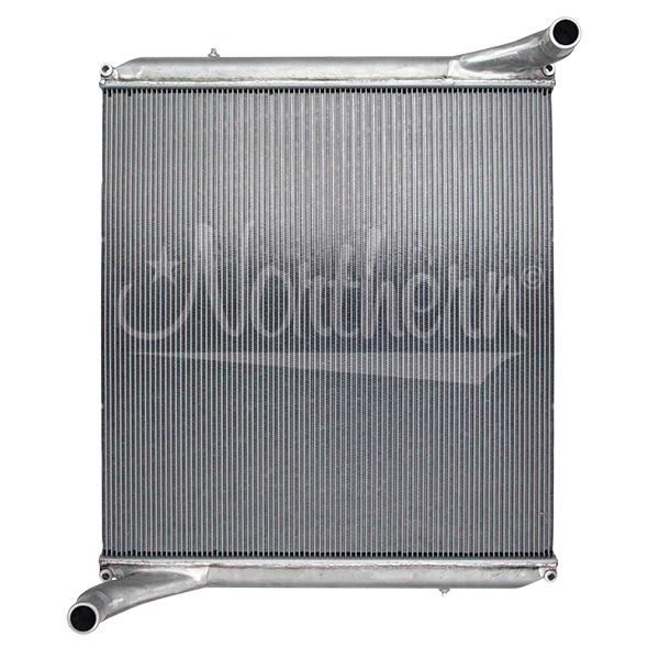 238731 AuTOCar Aluminum Radiator - 36 7/16 x 34 7/8 x 2