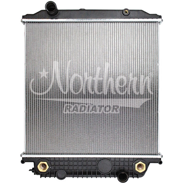 238831 Blue Bird Bus Radiator - 25 x 25 1/8 x 2