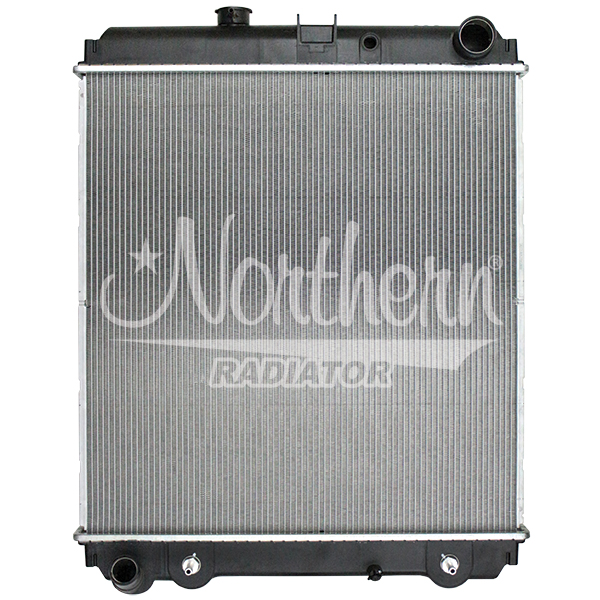 238835 Hino Radiator - 26 1/2 x 24 3/4 x 1 3/8 (PTR w/o Frame)