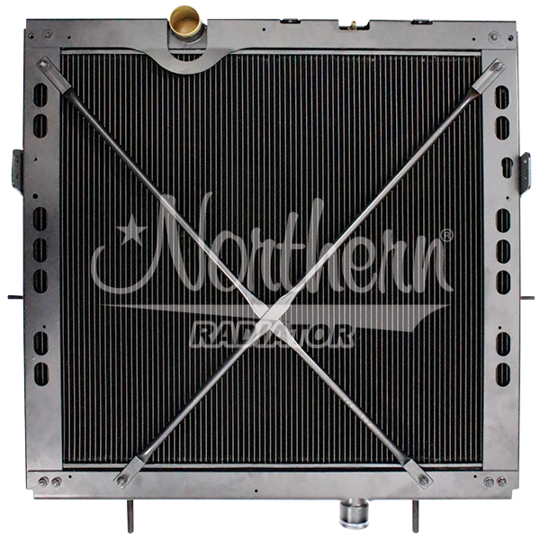 238853 Kenworth / Peterbilt Radiator - 34 1/8 x 38 7/8 x 2 1/2 (CBR With Frame)