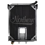 239041 AuTOCar / Volvo Radiator  - 38 x 27 1/2 x 3 1/8 (With Crank Box)