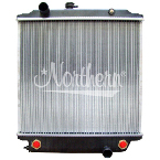 239385 Freightliner Radiator -  24 x 25 1/16 x 2 1/16 (PTR Without Frame, With Cooler)