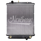 239387 Freightliner Radiator - 27 7/16 x 25 1/8 x 2  1/16 (Without Frame)