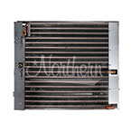 400-676 Ford/New Holland Condenser / Oil Cooler Combo - 18 x 17 3/4 x 2 1/4