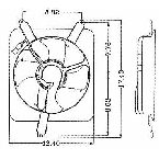 610050 Condenser Fan Assembly