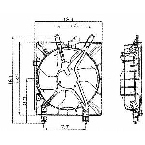610380 Condenser Fan Assembly