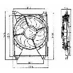 610700 Condenser Fan Assembly