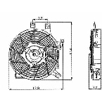 610770 Condenser Fan Assembly
