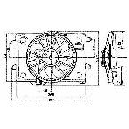 620260 Radiator / Condenser Fan Assembly
