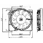 620560 Radiator / Condenser Fan Assembly