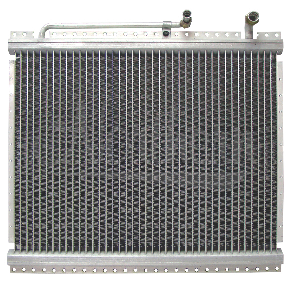 9210001 Apu Condenser For Semi Trucks - 14 x 16 3/4 x 3/4 Core