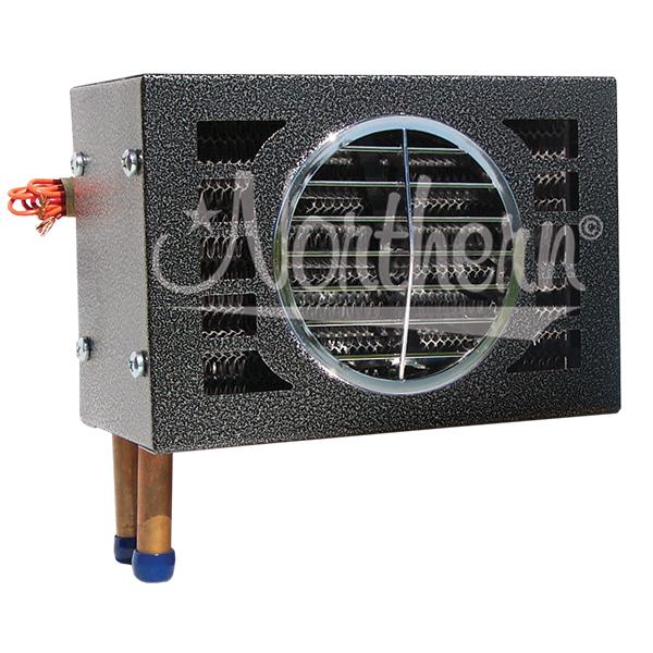 AH24468 20,000 Btu Auxiliary Heater- 9 1/2 x 6 1/2 x 7 - 24 Volt