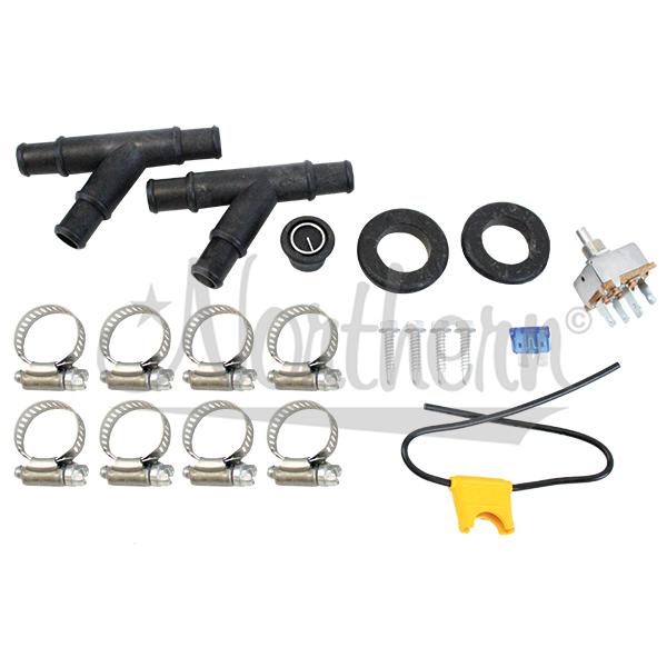 AH450-66 12 Volt Mounting Kit For  Ah525, Ah530, Ah535, Ah545, Ah550 Auxiliary Heaters