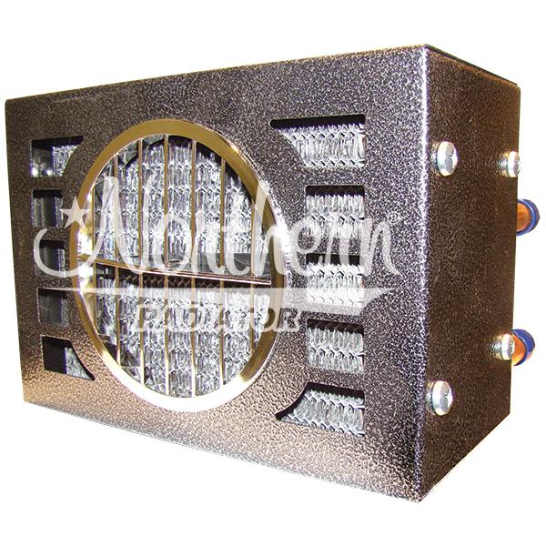 AH454 20,000 Btu Auxiliary Heater- 9 1/2 x 6 1/2 x 7- 12 Volt