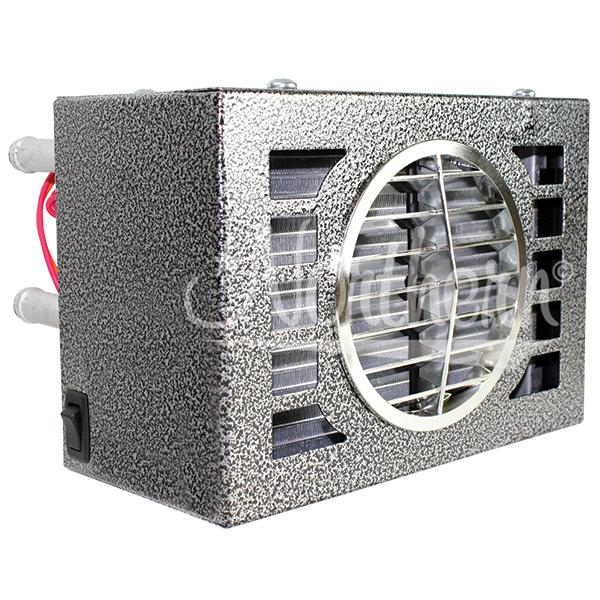 AH474 20,000 Btu Auxiliary Heater- 9 1/2 x 6 1/2 x 7- 12 Volt