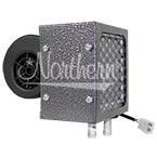 AH530 High Output 16,000 Btu Auxiliary Heater - 6 1/2 x 6 3/4 x 8 7/8 - 12 Volt