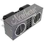 AH535 High Output 30,000 Btu Auxiliary Heater - 16 x 6 1/2 x 9 - 12 Volt