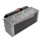 AH24550 High Output 30,000 Btu Auxiliary Heater - 16 x 6 1/2 x 9 - 24 Volt