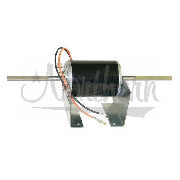 BM3331800 Blower Motor - Double Shaft Single Speed 12 Volt