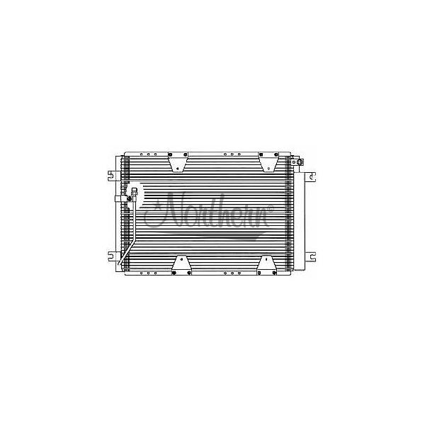 CD40448 Condenser - 22 x 14 7/8 x 3/4 Core
