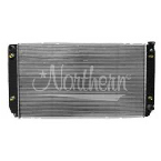 CR1696 Chevy / GM Radiator- 34 x 19 11/16 With 3/4 Tall Fill Neck