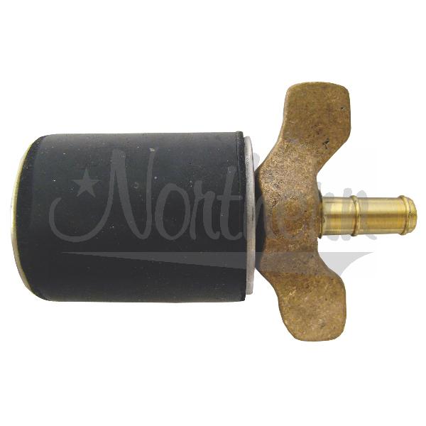 RW0003-100-1 1 Inch Sta-Tite Expansion Plug - Open Stem