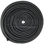 RW0042 Black Rubber Overflow Tubing -  7/16 Inch x 100 Ft