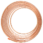 RW0043 Copper Overflow Tubing 5/16 Inch x 25 Feet