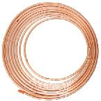 RW0043 Copper Overflow Tubing 5/16 Inch x 25 Feet