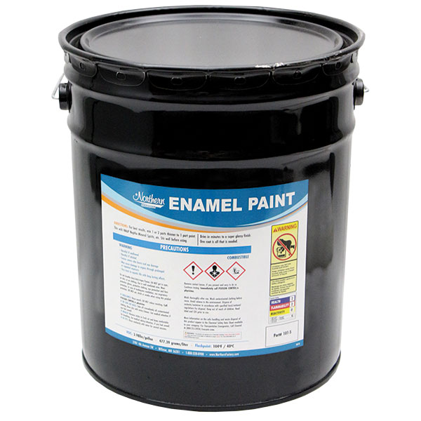 RW0101-5 Black Enamel Paint - 5 Gallon